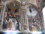 Piccolomini Library in the duomo in Siena