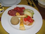 Mixed antipasti at Osteria di Fonterutoli