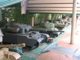 A nice collection of big tanks