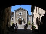 Church at Castellina in Chianti