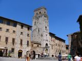 Scene from San Gimignano