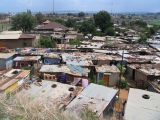 A squatter camp in Soweto