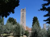 A tower at San Gimignano